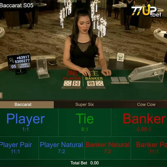 บาคาร่า คือหนึ่งในคาสิโนออนไลน์ที่ไม่มีใครไม่เคยเล่น