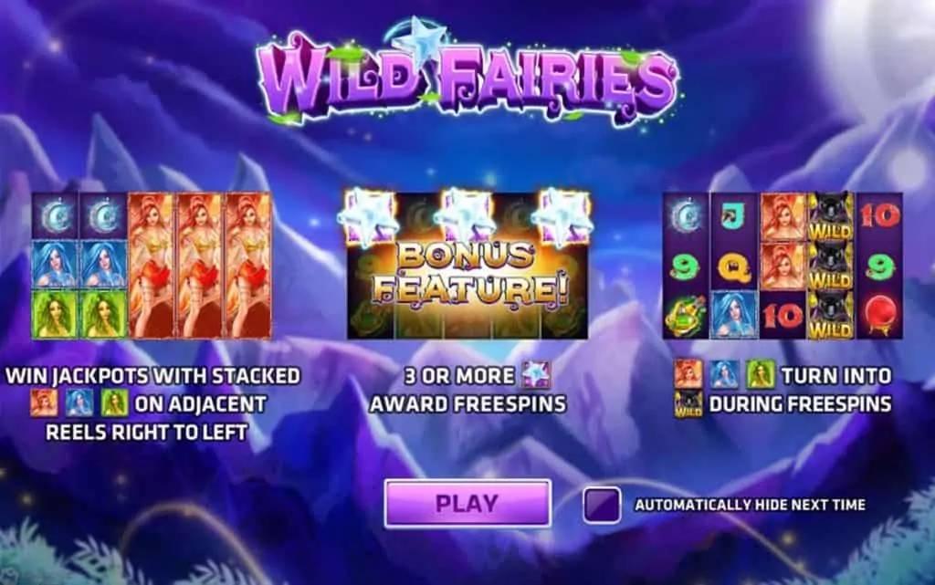 Wild Fairies เกมคาสิโนสล็อตที่ทำให้ขาพนันได้เจอกับโหมดฟีเจอร์โบนัส