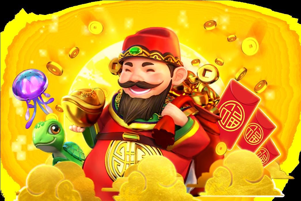 Caishen Riches เกมคาสิโนสล็อตที่มาพร้อมกับความโชคดีในการเล่นเกม