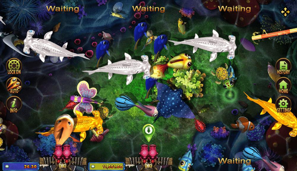 Fish Hunting Golden Toad เกมสล็อตบนมือถือ