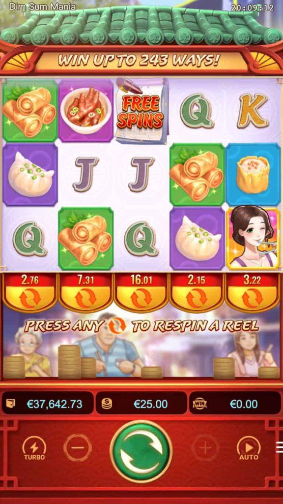 เกมสล็อต Dim Sum Mania
